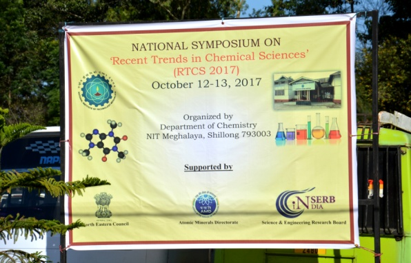 Recent Trends in Chemical Sciences 2017 (October 12-13)